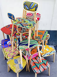 african furniture and decor. African Wax Chairs More Mais Furniture And Decor T