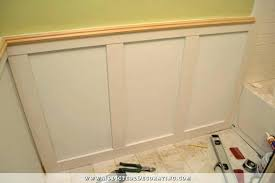 chair rail wainscoting. Chair Rail Lowes Wainscoting Top Cap Molding Fetching Images Of Various Wainscot E