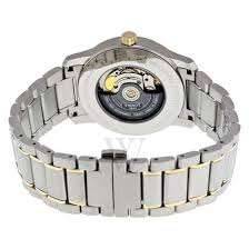 men s t classic collection two tone silver and gold pvd titanium men s t classic collection two tone silver and gold pvd titanium silver dial tissot shop by brand world of watches