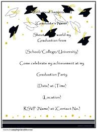 Create Graduation Invitation Online Create Graduation Invitations Online Free Printable Beadesigner Co