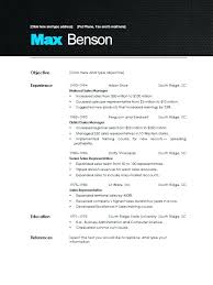 Example Of A Modern Resume Big Communications Specialist Example