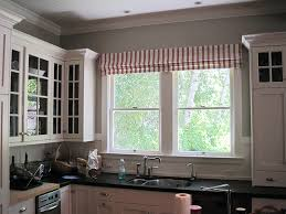 Roman Blinds In Kitchen Kitchen Fake Roman Shade Plum Designs And Blinds