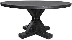 black round table. NOIR :: GTAB419HB Criss Cross Round Table Hand Rubbed Black Dia 60 H 30 #5Foot #DarkFinish #Dining A