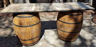 wood barrel furniture. Barrel Serving Counter Wood Furniture K