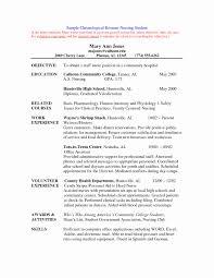 New Graduate Nursing Resume Examples Entry Level Nurse Resume