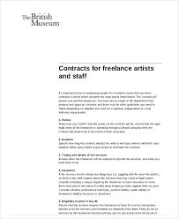 Contract Clauses You Should Never Freelance Without 100 Freelance Contract Samples Templates Word PDF 2