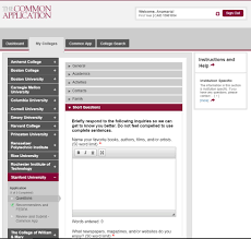 the ultimate guide to applying to stanford university stanford common app short answer section