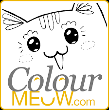 Small Picture Colour Meow Cat Colouring Pages Cat Drawings for Adults Anti