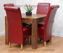 Black Leather Dining Room Chairs Chair Square Red Leather Dining Room Chairs Table Simple Wonderful