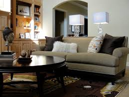 mission style sofa family room eclectic with arched doorway area rug bookcase bookshelves built in shelves
