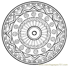 Small Picture henna coloring pages Pin Free Printable Mandala Coloring Pages