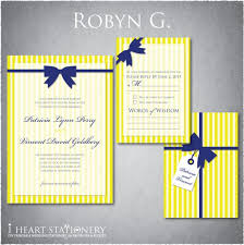 which invitation do you like better? weddingbee Wedding Invitations Navy And Yellow also, does it matter that my wedding colours are royal blue and bright yellow and the invitations are navy blue? should i ask for it to be in royal blue navy blue and yellow wedding invitations