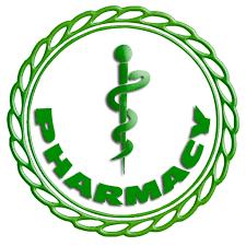 Green pharmacy logo clipart image - ipharmd.net