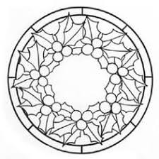 Christmas Stained Glass Patterns Classy Stained Glass Template Christmas All Free Templates To Download