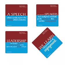 Famous Toastmasters Quotes
