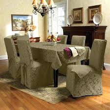 dining table chairs covers leaf pattern dining table chair covers uk