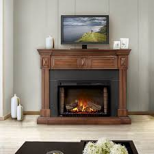 electric fireplace traditional closed hearth free standing nefp29 1215bw