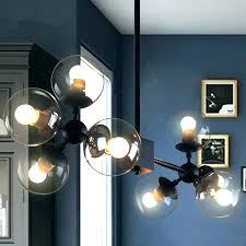 glass globe chandelier globes for modern chandeliers replacement amazing blown chandelie