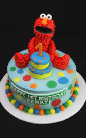 Elmo First Birthday Cake Butterfly Bake Shop In New York