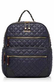 quilted handbag | Nordstrom & MZ Wallace Crosby Quilted Oxford Nylon Backpack Adamdwight.com