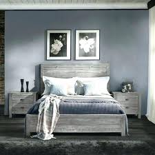 Solid Wood Bed Frame King Rustic King Size Bed Frame King Size Solid ...