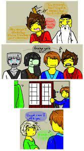 Lloyd is pregnant! | Lego ninjago movie, Lego ninjago lloyd, Lego ninjago