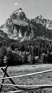Mountain Black White Nature Wallpapers ...