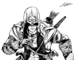 Assassins Creed 34 Video Games Printable Coloring Pages