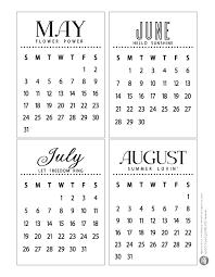 Fontaholic Freebie Friday 2015 Mini Calendar