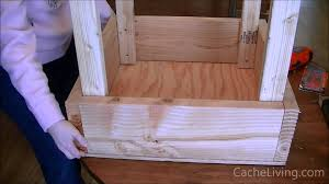 Small Picture How To Make An Elevated Garden Box YouTube