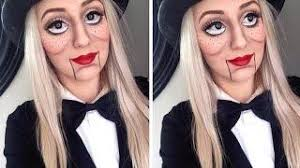 11 05 ventriloquist doll makeup tutorial large doll eyes tutorial