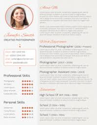 Sample Creative Resume Layouts