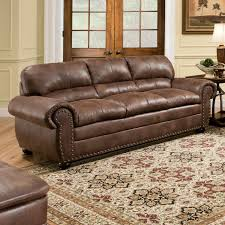 upholstery padre sofa espresso simmons sofa simmons fabric sectional