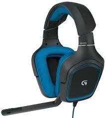 Amazon.com: Logitech 981-000536 G430 7.1 Gaming Headset with Mic ...