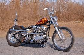 old school and cool motorbike totally rad choppers