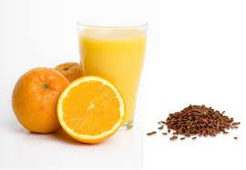 Resultado de imagem para Orange with linseed