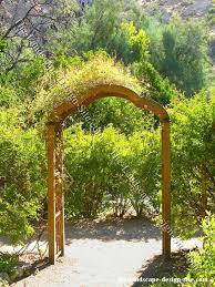 arbor garden. Small Entry Arbor Garden