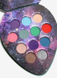 blackheart beauty galactic cosmic eyeshadow palette hot topic kids makeup makeup geek beauty