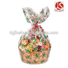 jumbo cellophane bags gift basket bags
