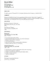 Pharmacist Resume Sample Technical Resume Tips Pharmacist Resume