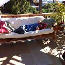 furniture outdoor bed swing cushions modern porch invigorate futon patio 6 outdoor futon furniture elegant design property patio swing regarding 15
