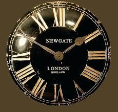 black wall clocks wall clocks black large black metal wall clock uk