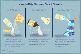 homemade carpet cleaner recipes