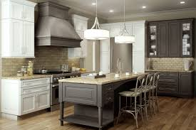 Drum Lights For Kitchen Bed Bath Delightful Kitchen Island And Dura Supreme Cabinetry