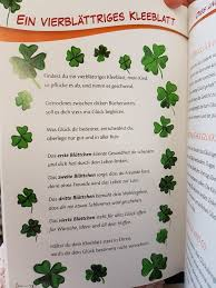 Kleeblatt Glück Kita Kindergarten Erzieher Reim Gedicht