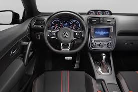 2015 Volkswagen Scirocco GTS steering wheel - Indian Autos blog