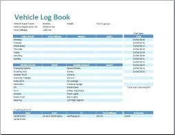 Vehicle Log Spreadsheet Motor Vehicle Log Book Template Vehicle Log Book Format Excel Motor