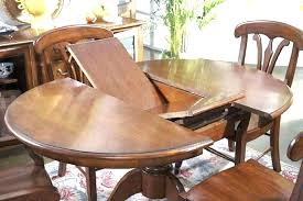 extendable dining table for small spaces expandable round dining table spectacular expanding round dining room table