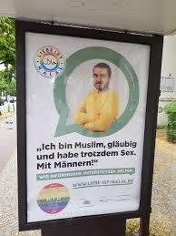 """Gej przeciwko światu's tweet - """"""""Jestem wierzącym muzułmaninem i uprawiam  seks z mężczyznami."""" - pod takim hasłem wystartowała w Berlinie kampania Seyran  Ateş, adwokatki walczącej o prawa człowieka. Islam potrzebuje seksualnej  rewolucji"""