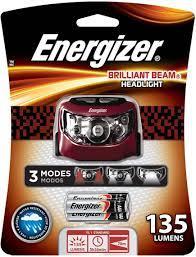 Đèn pin đội đầu Energizer Brilliant Beam Headlamp 135 lumen